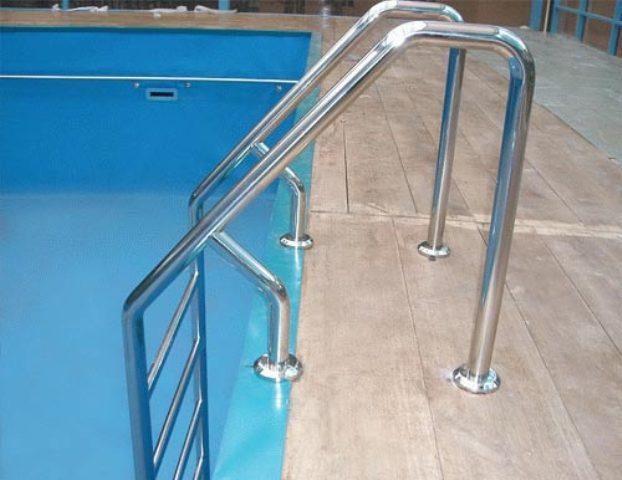 Лестница в бассейн своими руками из нержавейки