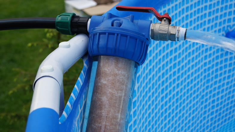 Плавающий фильтр для бассейна своими руками 54