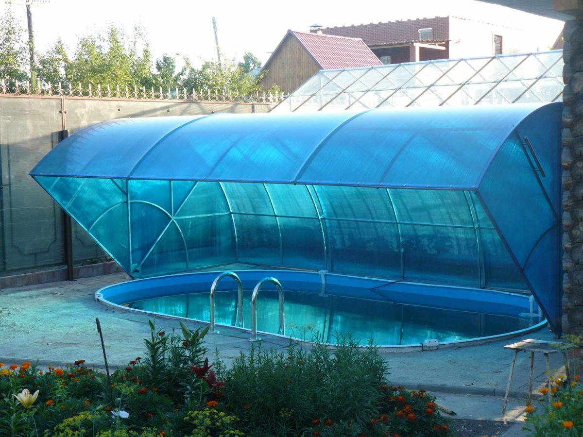 Купол для круглого бассейна FORUMHOUSE 557