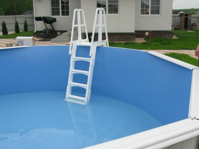 Лестница для бассейна из пластиковых труб своими руками 412