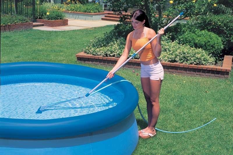 Как почистить каркасный бассейн