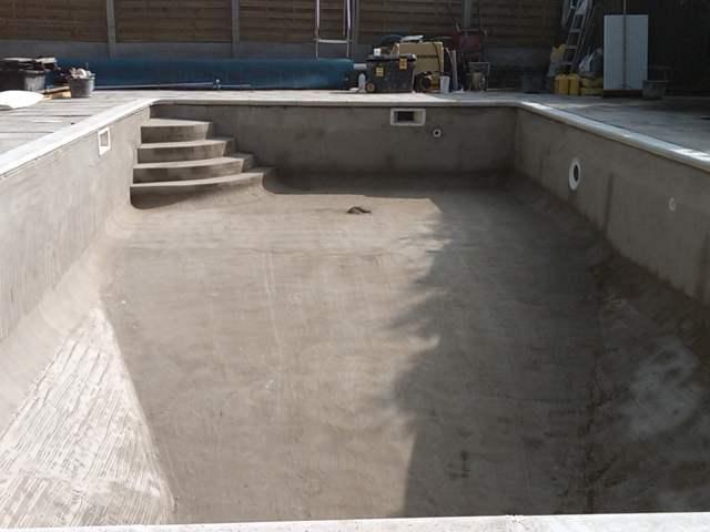 Бетонный бассейн своими руками пошаговая инструкция