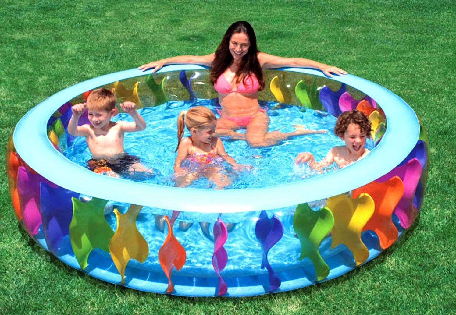 Как заклеить бассейн интекс в домашних условиях 421