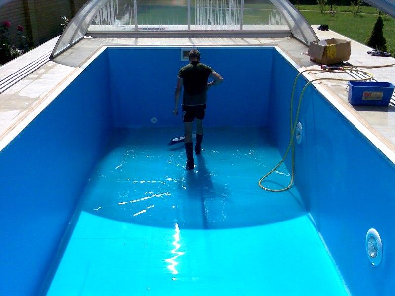 Система очистки воды в бассейнах