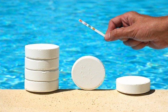 Фильтрация и хлорирование бассейна своими руками