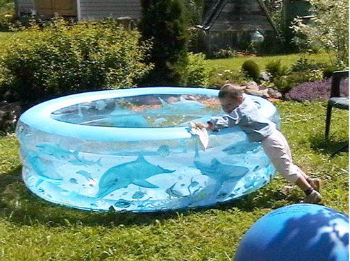 Бассейн-лягушатник для детей