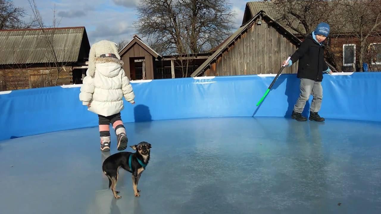Как хранить каркасный бассейн зимой правильно?