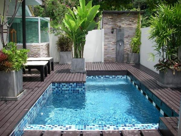 Отделка бетонной чаши бассейна, отделка бассейна из бетона: чем штукатурят и покрывают котлован бассейна