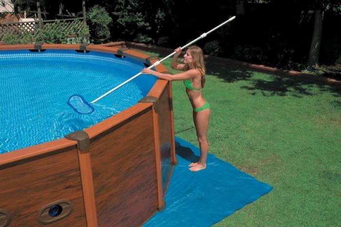 Пропиленовый бассейн доступное удовольствие 73