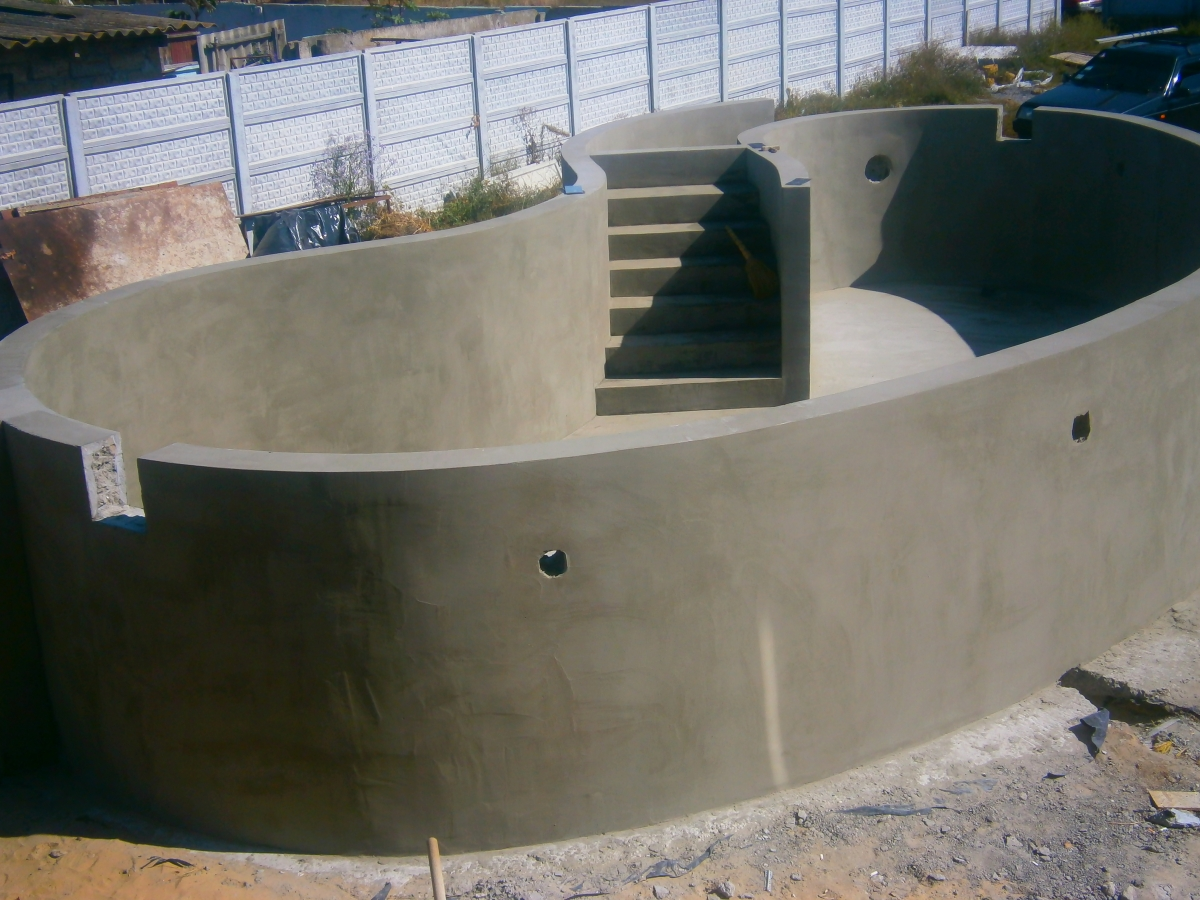 Самодельная лестница из пвх трубы для бассейна