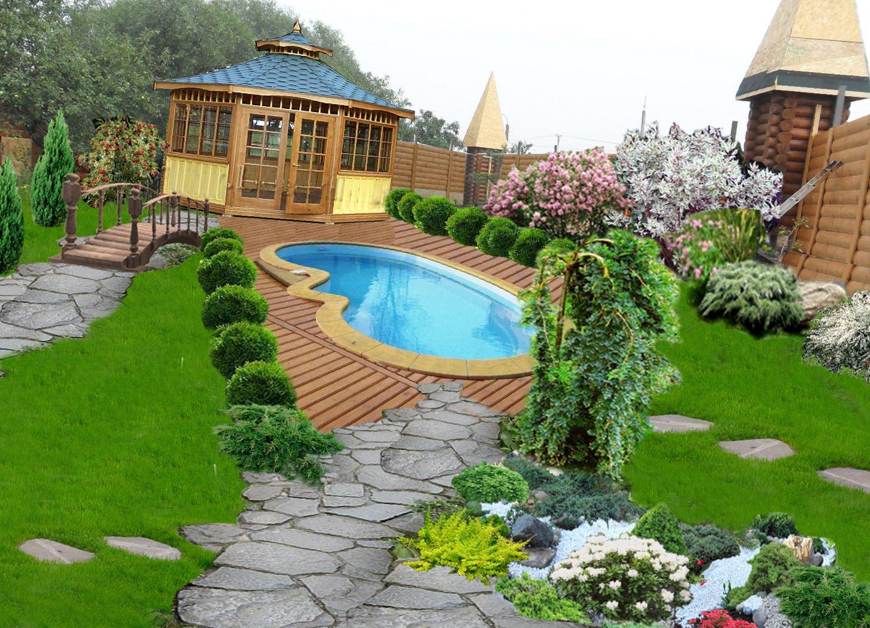 может садовый дизайн своими руками фотогалерея преимущества